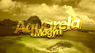 TIPOGRAFIA (VIDEO PARA STATUS) MAGYN - AQUARELA