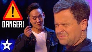 Magician Puts Dec's Life At Risk on Britain's Got Talent 2018 | Got Talent Global