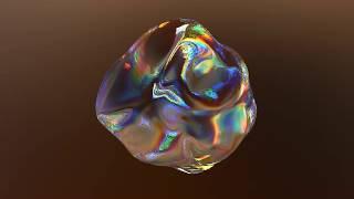 Iridescent Morphing Blob