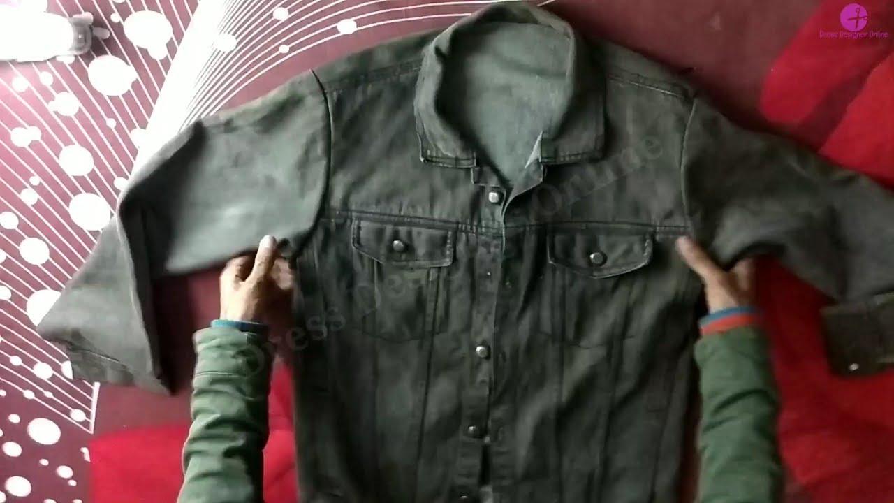 Download Thumbnail For Denim Jacket Tutorial Simple Jacket Ko