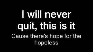 Papa Roach-Hope for the Hopeless with lyrics