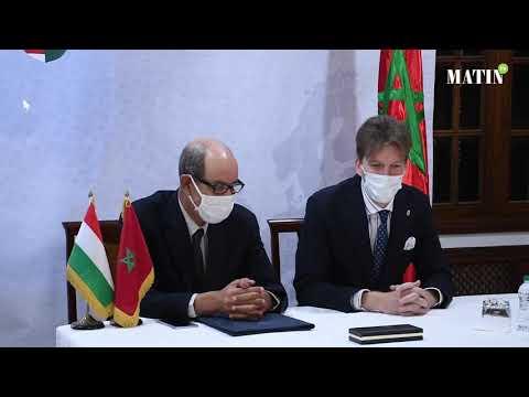 Video : Signature d'un mémorandum de coopération entre l'AMMS et l'association hongroise des semences