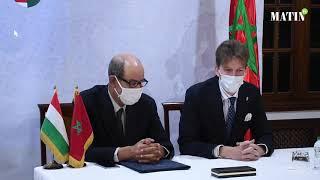 Signature d'un mémorandum de coopération entre l'AMMS et l'association hongroise des semences