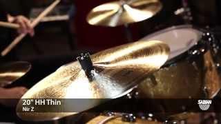 "SABIAN 20"" HH Thin Demo by Nir Z"