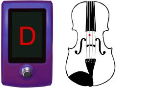 Violin Tuner - Fiddle Tuner - Standard Tuning