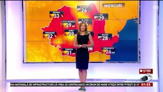 Prognoza meteo pentru următoarele trei zile