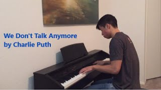 Charlie Puth - We Don't Talk Anymore | Piano cover by xtimcheng