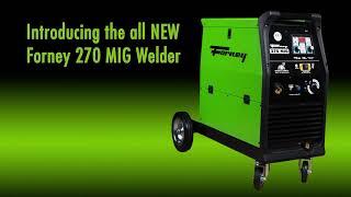 Forney® 270 MIG Welder, 230V, 270A