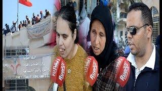 المعطلون المكفوفون يهددون بالانتحار من فوق مقر وزارة الحقاوي بعد تهميش مطالبهم بالتوظيف