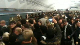 Métro de Moscou: des retards créent la cohue