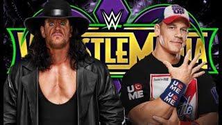 Undertaker Vs John Cena Wrestlemania 34 promo( Devil's Gonna Come)