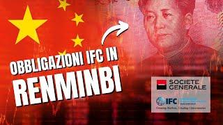 IFC: nuova obbligazione in renmimbi con cedole all'1,85%