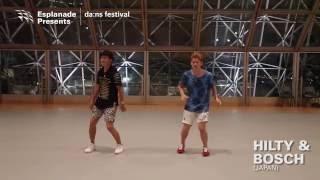 da:ns festival 2016 | A taste of Hilty & Bosch, Sixteen Dance Challenge mentors