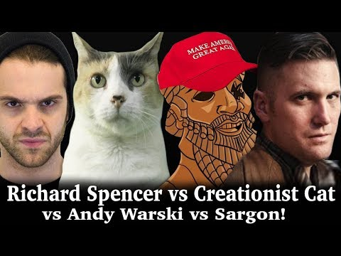 Richard Spencer vs Warski vs CreationistCat : The Lost FreeSpeech Debate!