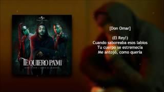 Te Quiero Pa Mi (Remix) - Zion y Lennox Ft. Don Omar + Descarga Mp3