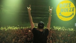 BOYS NOIZE - Live in Europe pt.3