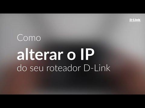 Como alterar o endereço IP
