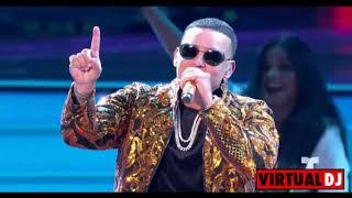 Daddy Yankee - Dura (REMIX) ft. Bad Bunny, Natti Natasha & Becky G (Official Video) width=