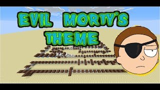 Evil Morty's Theme with Note Blocks [FULL SONG]