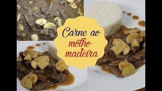 CARNE AO MOLHO MADEIRA | Bem Vindos à Cozinha | Receita 97