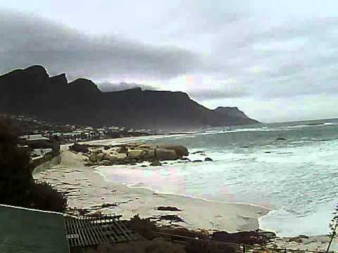 Timelapse Video – Glen Beach & Camps Bay – 01/06/2011