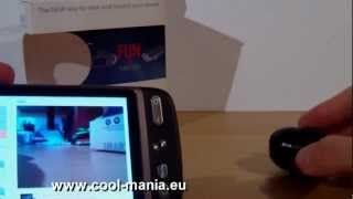 Mini SPY Wifi kamera s live prenosom