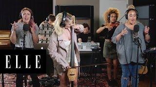 "Clean Bandit Performs ""Symphony"" Live | Interlude | ELLE"