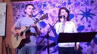 Knock Three Times by Tony Orlando and Dawn (COVER by Olivia and Alex)