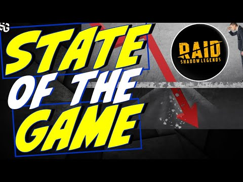 Raid plummeting. State of the game. Will they pull it together? Raid Shadow Legends