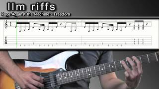 llm Riffs : Freedom, Rage Against the Machine