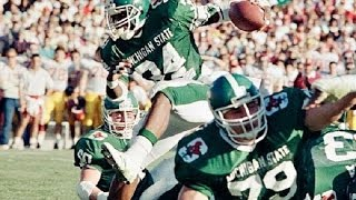 Spartan Legends - Lorenzo White (1988 NFL Draft - 22nd Pick)