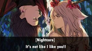 {Nightcore} - Static-P Ft. Amree // Its not like I like you!! | | Lyrics | |