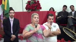 Testemunho Janete e Julio Aniversário de 11 Anos do Templo da Restauração