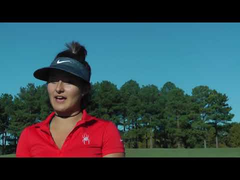 Elsa Diaz, senior, talks about her journey to the UR Women's golf team and her love for the game. Video by Matt Monacelli and Sarah Raymond.