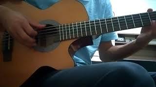 Leyla ile Mecnun Fon Müziği Amatör gitar