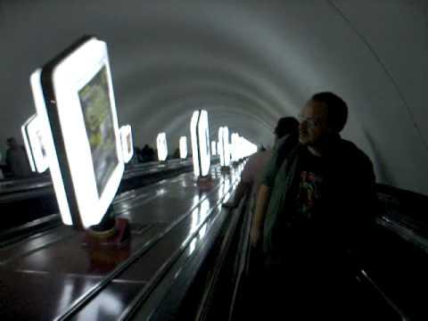 Tunnelbanan Kiev Ukraina