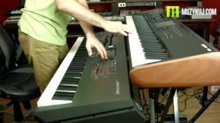 Korg Kronos VS Yamaha Montage Brass