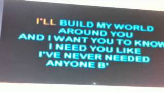 Firehouse - Karaoke (I live my life for you) Cover