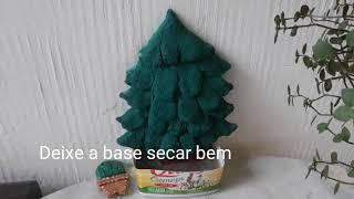 ÁRVORE DE NATAL FEITA DE CIMENTO. MUITO FÁCIL. Christmas tree ?