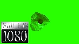 bullet hole in green screen free stock footage