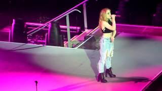 Sabrina Carpenter rising on the stage of the Dangerous Woman Tour Rio de Janeiro - Brazil