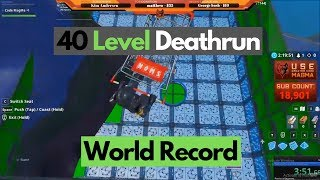 3:53 - 40 Level Ultimate Deathrun - (WR)