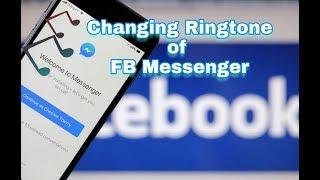 facebook messenger ringtone change | messenger ki default ringtone kaise change karein