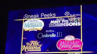 Sneak Peeks (That's So Raven, Little Einsteins Our Huge Adventure, Lady And The Tramp 2)