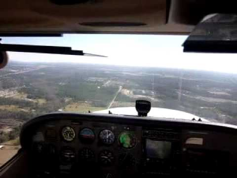 Traffic Pattern Departure at KOMN C172.avi