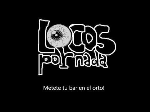 El Bar de Locos Por Nada Letra y Video