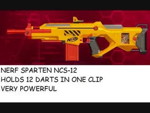 Nerf Guns Of 2012