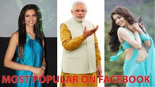 Top 5 Most Popular Indian's Celebrities on Facebook with highest fans list