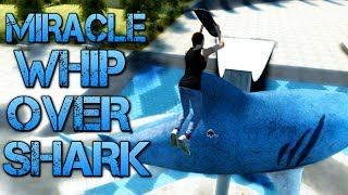 Skate 3 - Part 10   MIRACLE WHIP OVER SHARK   Learning to flip width=