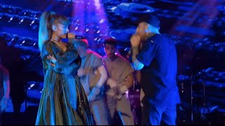 Ariana Grande & Mac Miller Give Surprise Performance! (WATCH)